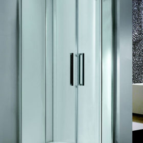 DB Frameless twin door Equal Quad 8mm