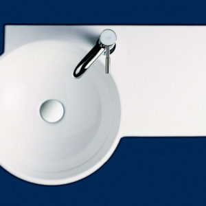 Gina winged wall basin
